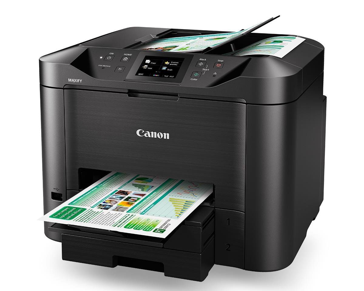 Tecnotinta Multifuncional Canon Maxify Mb5410 Con Sistema